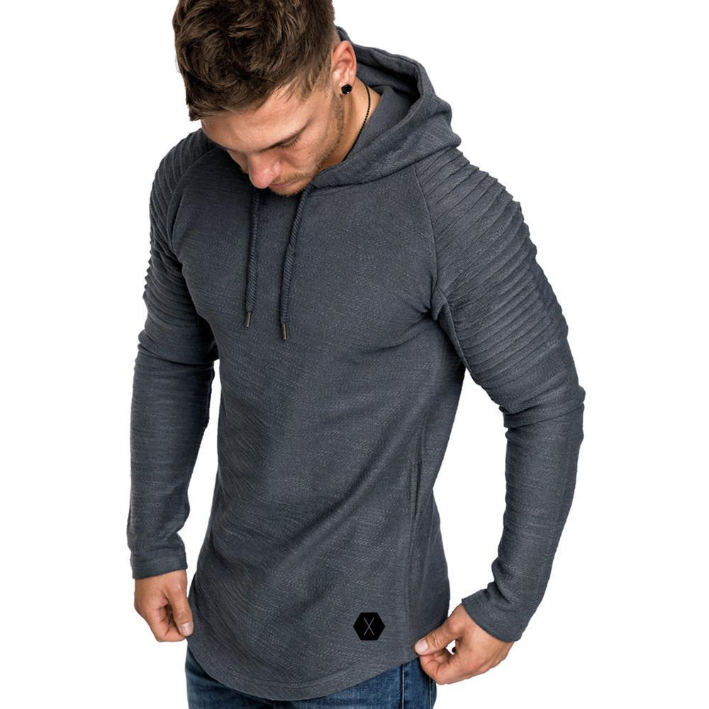 Fashion Mens Light Knitted New Style Hoodie