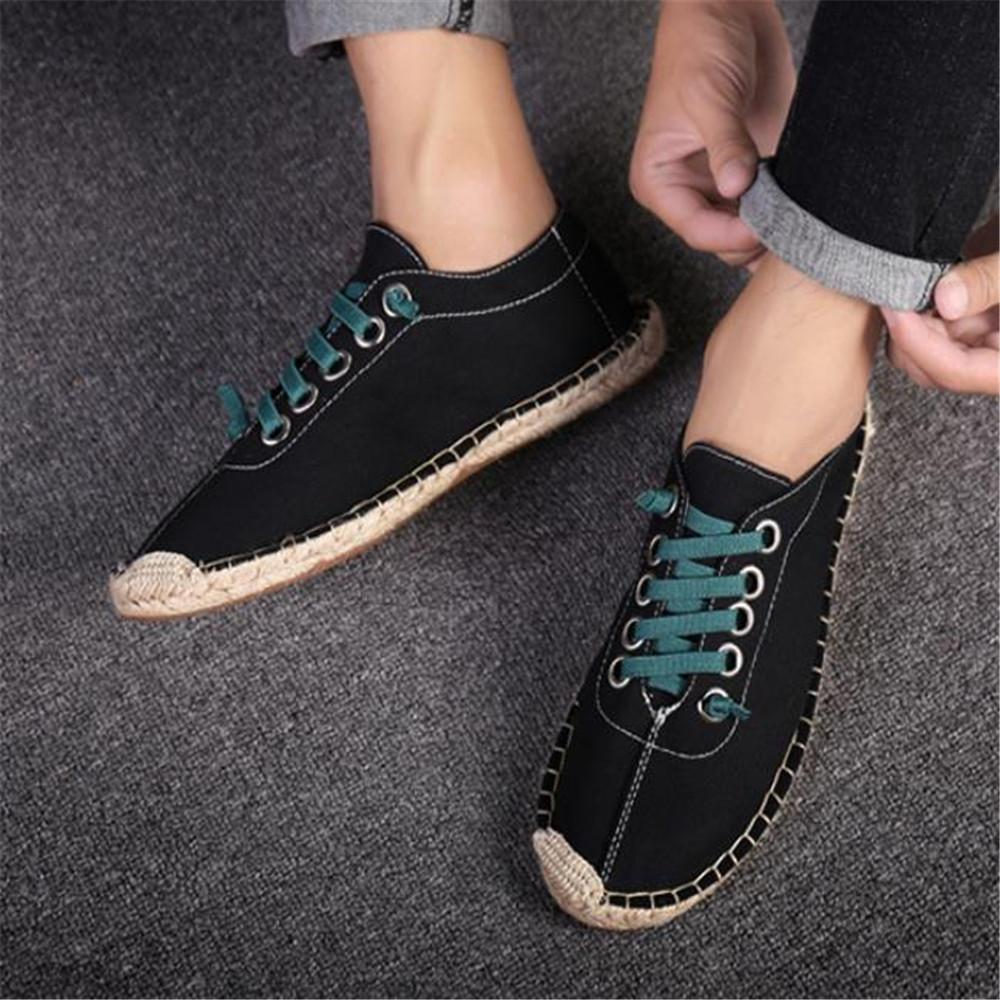 Fashion Men's Casual Shoelace Canvas Shoes