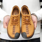 Casual Men's Fashion Flat Hand Made Shoes