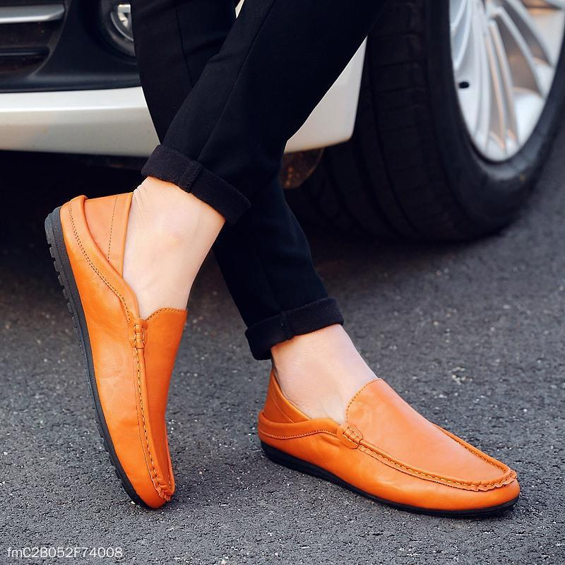 Fashion Men's Summer Plain Flat Shoes