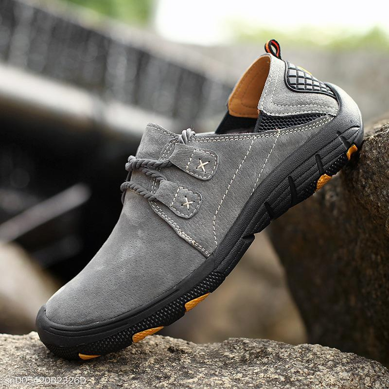 Fashion Men's Outdoor Blinding Breathable Flat Shoes