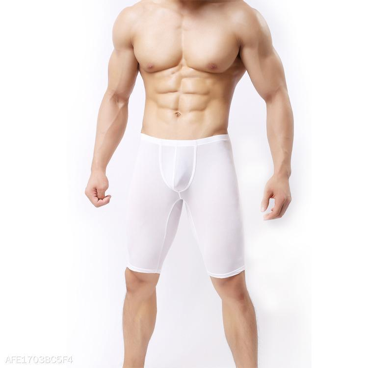 Sexy Mens Super Thin Slim Fit Shorts