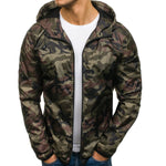 Fashion Mens Camouflage Sport Jacket Outerwear
