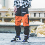 Sports Fashion Hip Hop Color Matching Loose Pants