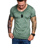 Casual Men's Loose And Comfortable Basic T-Shirt