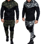 Mens Camouflage Sports Large Size Suit