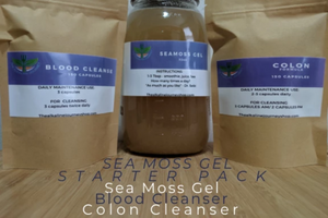 SEA MOSS, SEAMOSS GEL, STARTER PACK, COLON CLEANSE, COLON CLEANSER, BLOOD CLEANSE, BLOOD CLEANSER,IRISH MOSS, BLADDERWRACK, THE ALKALINE JOURNEY,THE ALKALINE JOURNEY SHOP, HERBS DR. SEBI, DETOXIFICATION, FASTING, HEALING, REMEDIES,