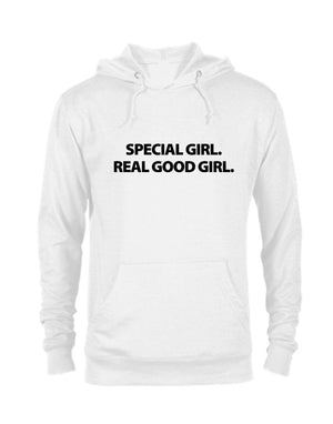 Special Girl Real Good Girl Hoodie-CREWNECKS & HOODIES-WakandaForever