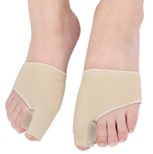 Load image into Gallery viewer, 1Pair Orthopedic Bunion Corrector and Pain Relief Gel Cushion Pad Toe Brace Hallux Valgus