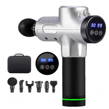 Load image into Gallery viewer, LCD Display 6 Head Deep Muscle Massage Gun