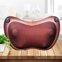 Load image into Gallery viewer, Shiatsu Pillow Massager Neck Back Massage with Heat, Deep Tissue Kneading for Full Body Muscle Pain Relief, Portable Relaxation in Car Home and Office