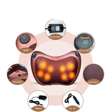 Load image into Gallery viewer, Shiatsu Pillow Massager Neck Back Massage with Heat