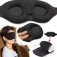 Load image into Gallery viewer, 2PCS-Travel Sleep Eye Mask soft 3D Memory Foam Padded Shade Cover Sleeping Blindfold