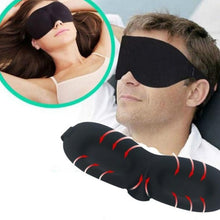 Load image into Gallery viewer, 2PCS-Travel Sleep Eye Mask soft 3D Memory Foam Padded