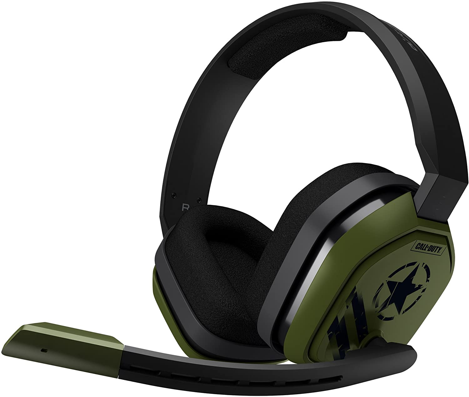 ASTRO Gaming A10 Wired Gaming Headset for PlayStation 4, Xbox One & PC - Call of Duty Edition (Black/Green)