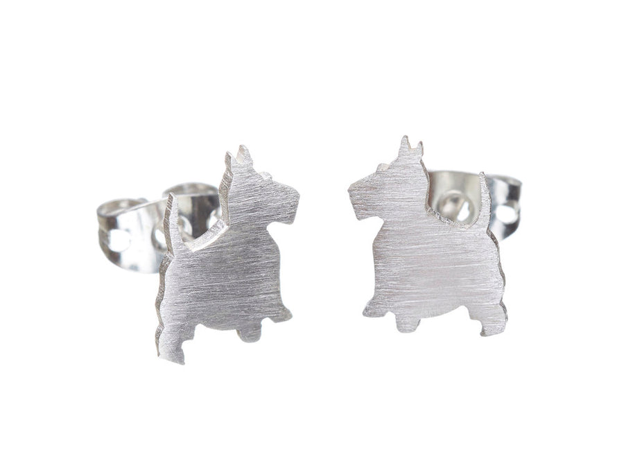 Scotty Dog Studs // 068