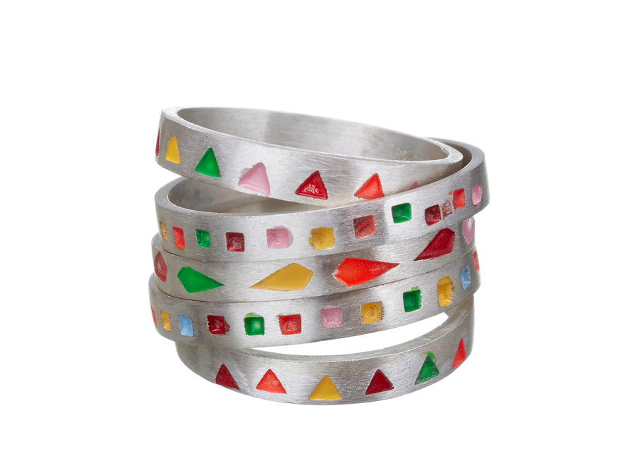 Triangle Bunting ring  // 103