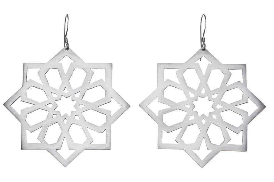 Moroccan star earrings // 044