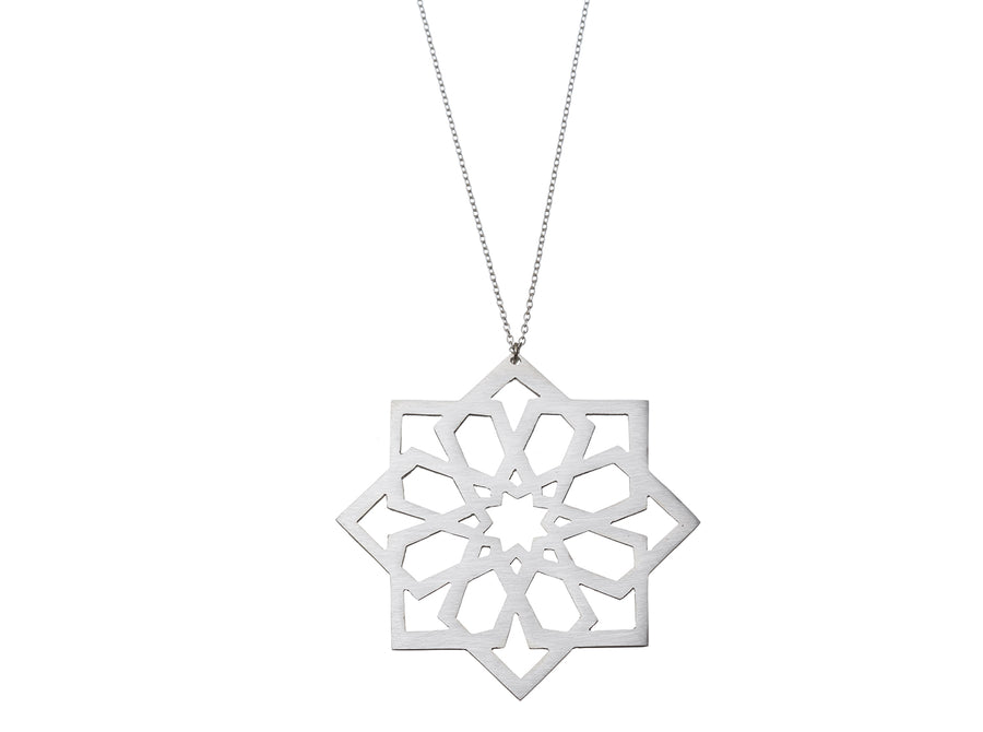 Moroccan Star Necklace // 043