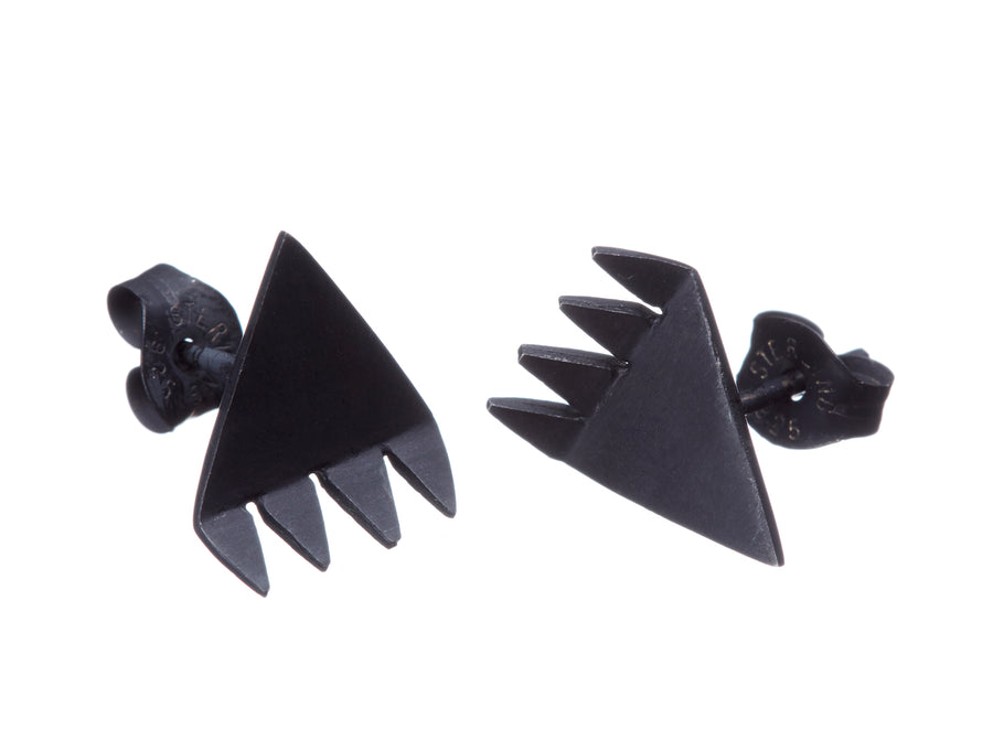 Spikey Triangle Studs // 237