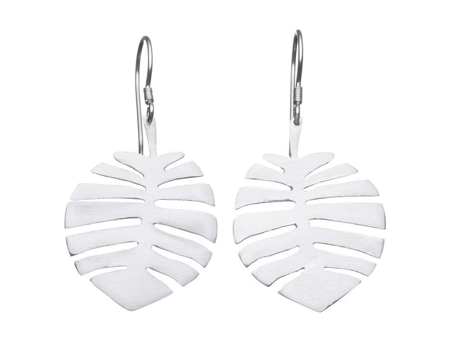 Monstera leaf earrings // 238