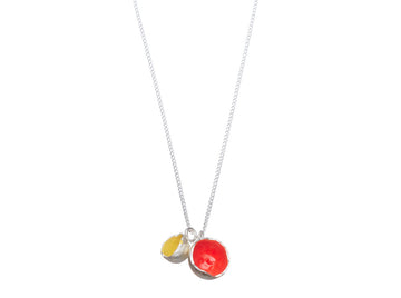 Colour pod necklace // 224
