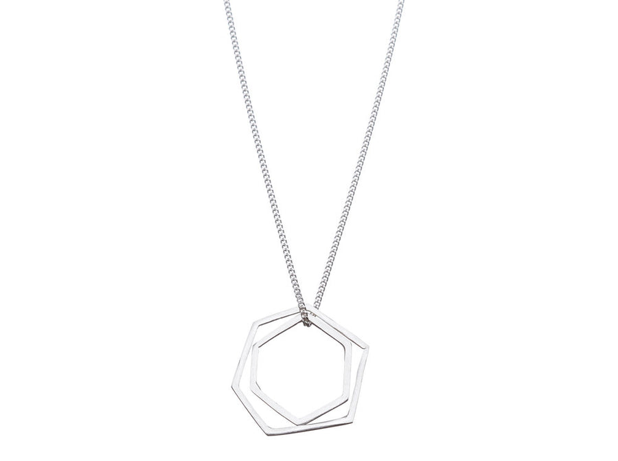 Geometric necklace // 271