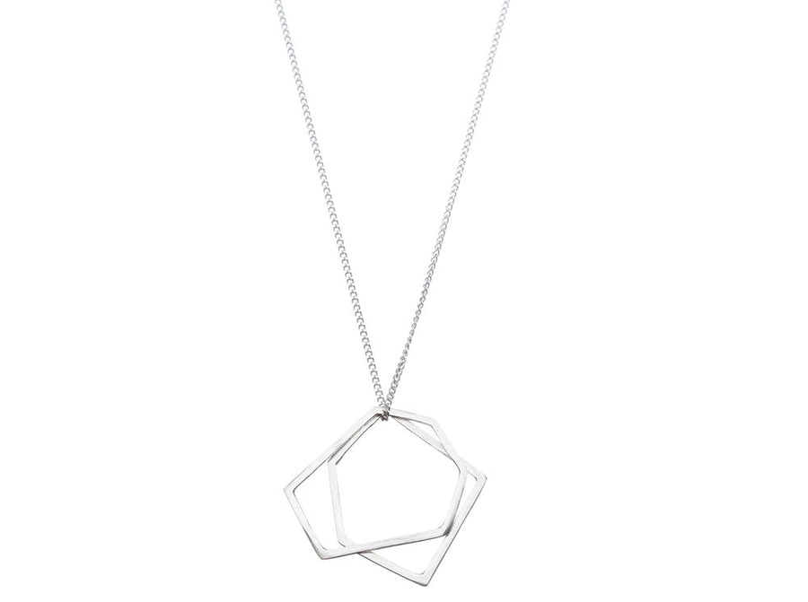 Geometric necklace // 273