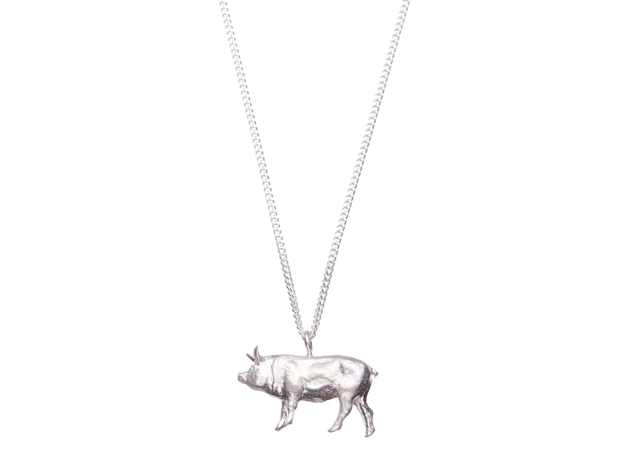 PIG necklace // 356