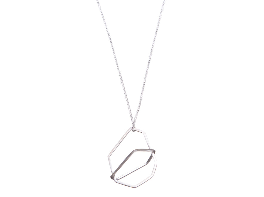 Geometric necklace // 279
