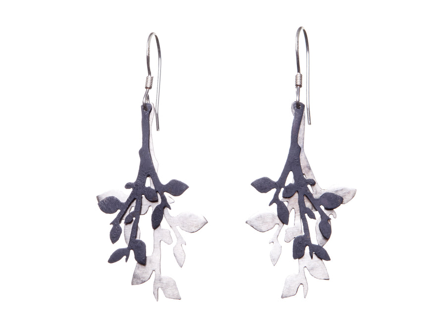 Leafy earrings // 310