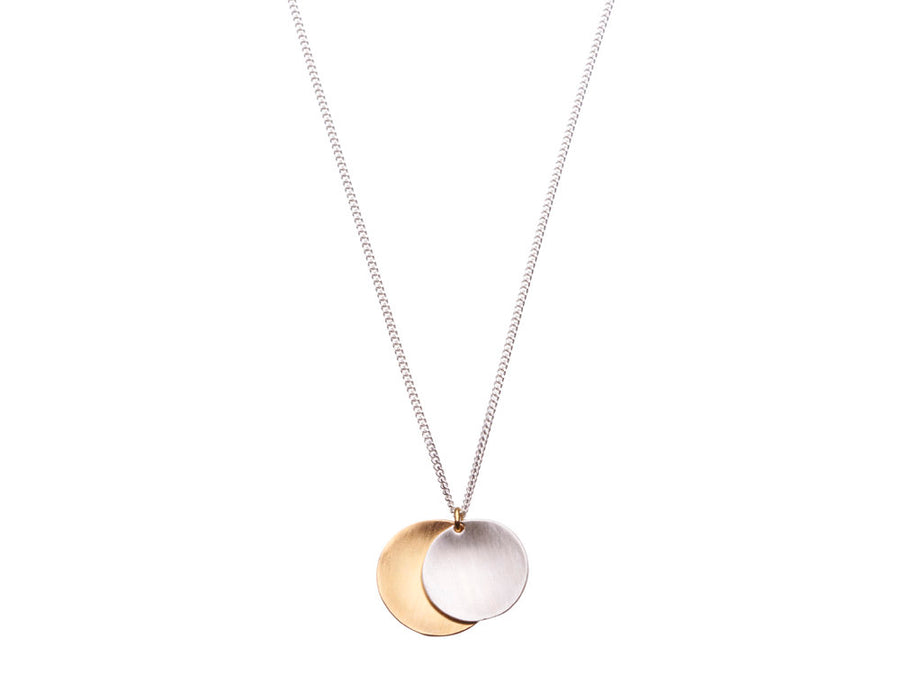 Disc necklace // 434