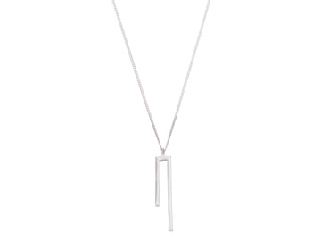Geometric necklace // 397