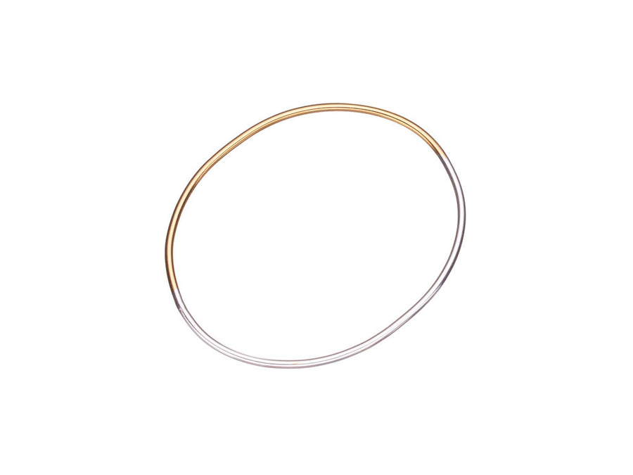 Simple Oval Bangle // 435