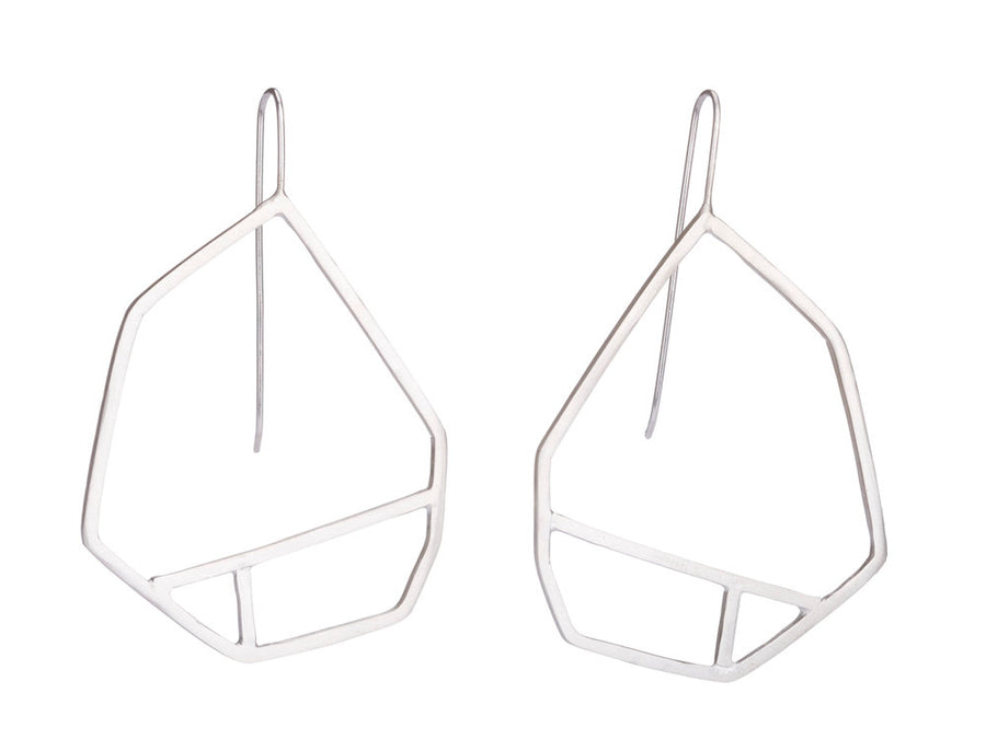 Geometric earrings // 363