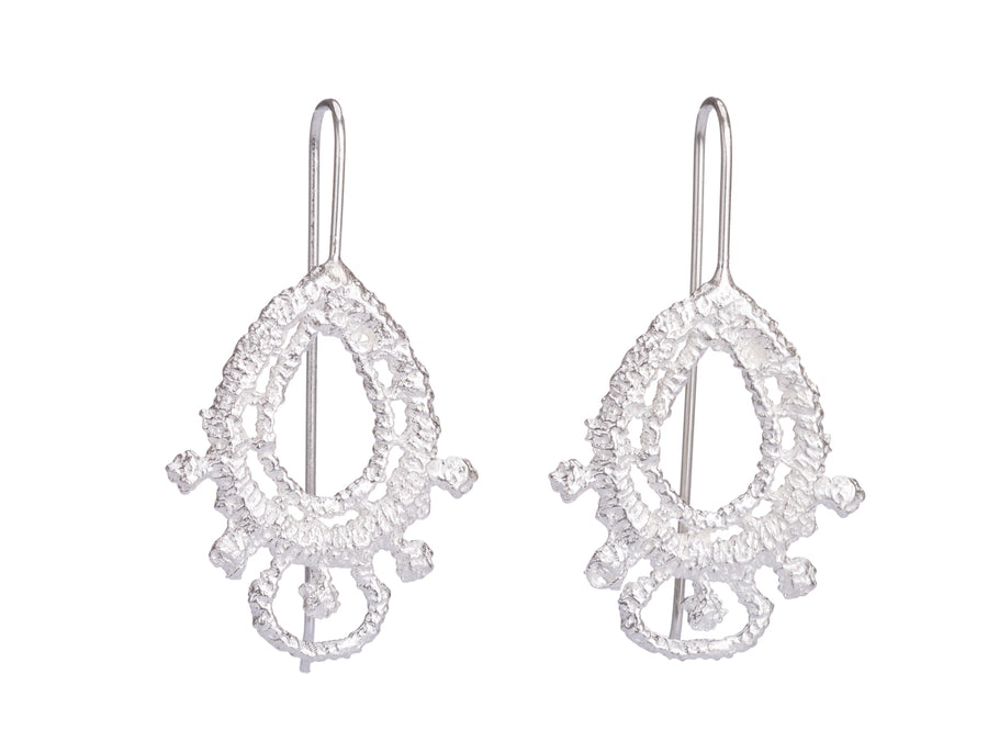 Lace earrings // 443