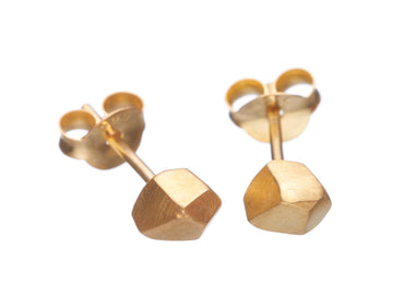Small Geometric Faceted Studs // 463