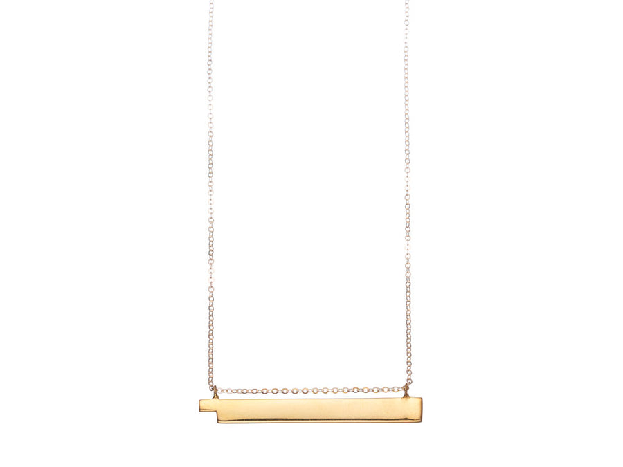 Steps Bar Necklace // 506