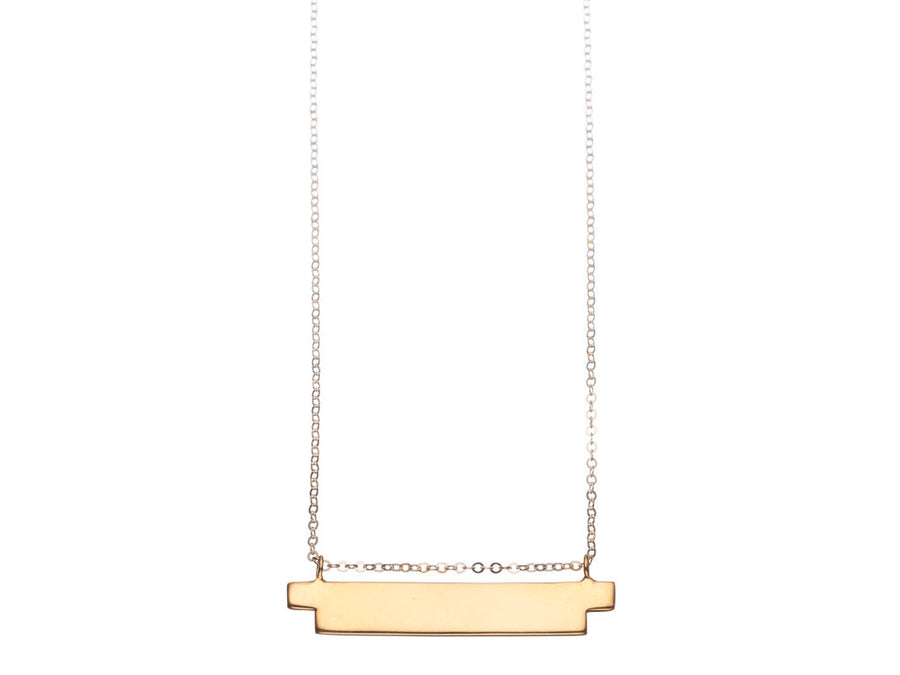 Steps Bar Necklace // 507