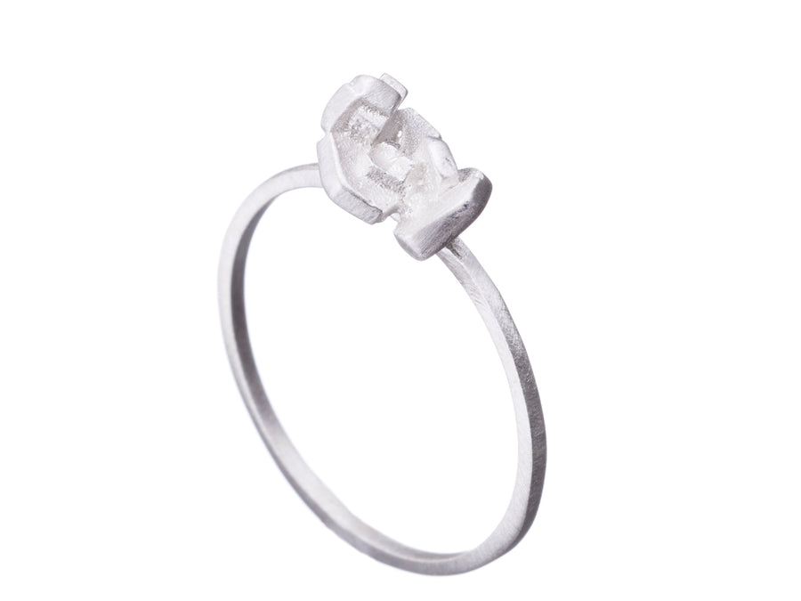 Cluster rock ring // 520
