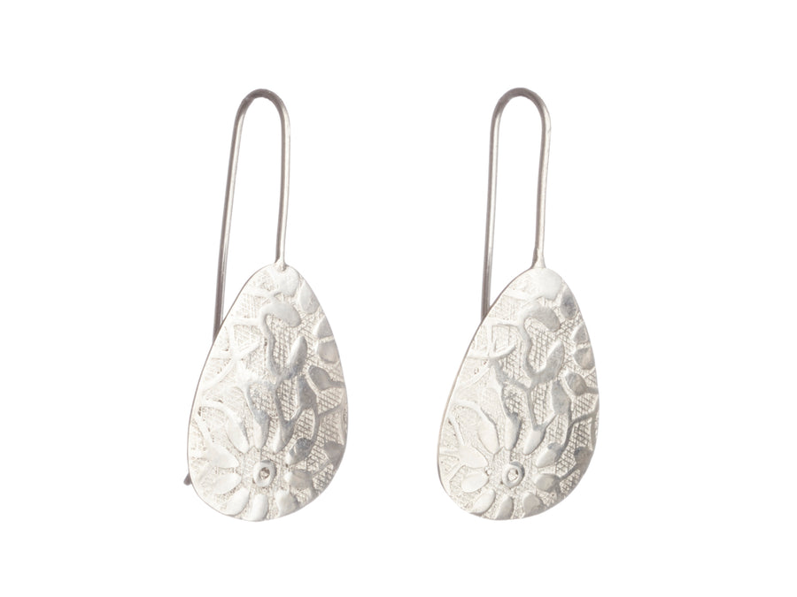 Floral Print Earrings // 573