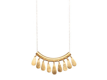 Contemporary tribal inspired necklace // 419