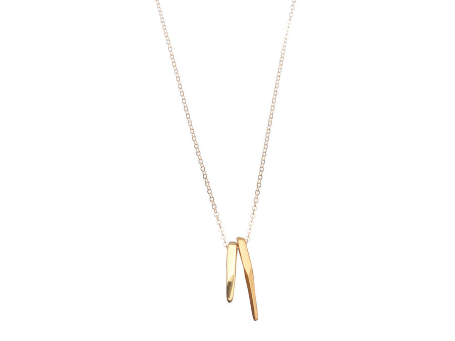 Mini Geometrics Claw necklace // 641