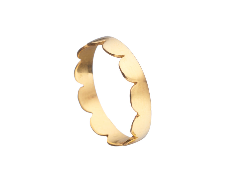 Frill ring - Polished // 648