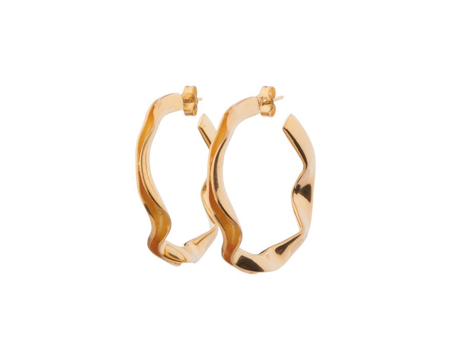 Large ripple hoops // 885