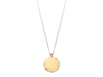 Sun slit necklace // 895