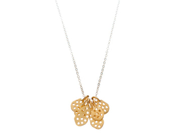 Honeycomb necklace // 868