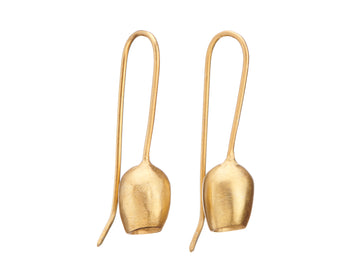 Contemporary bell earrings // 962
