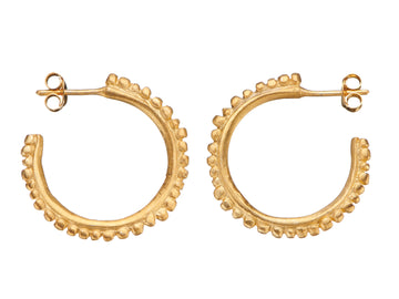 Medium Flora Halo hoops // 971