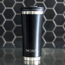 Load image into Gallery viewer, MontiiCo Mega Coffee Cup Black